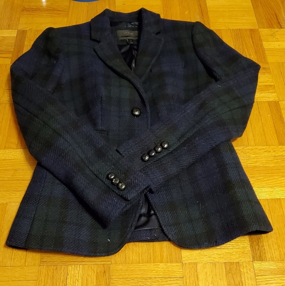 J. Crew Jackets & Blazers - J.Crew Blackwatch Plaid Schoolboy Blazer